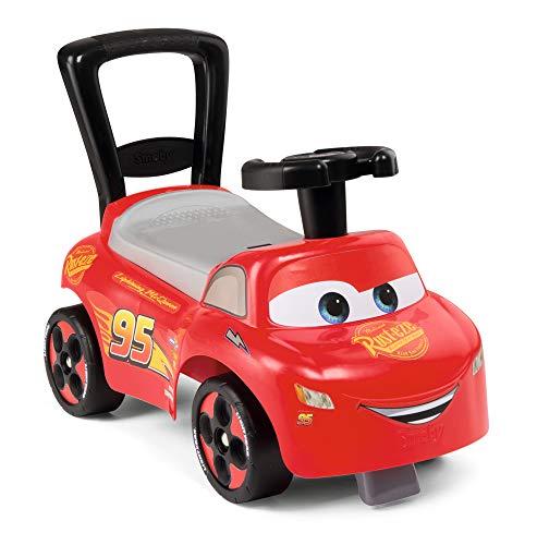 Smoby 720523 Mein erstes Auto Rutscherfahrzeug Cars, Kinderfahrzeug mit Staufach...