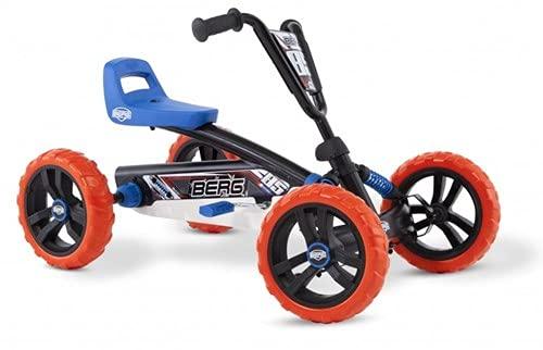 BERG Gokart Buzzy Nitro | Kinderfahrzeug, Tretauto, Sicherheid und Stabilität,...