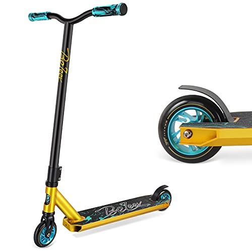 BELEEV Stunt Scooter Kinder, Freestyle Pro Trick Roller für Erwachsene, Kick...