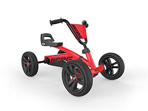 BERG Gokart Buzzy Red | Kinderfahrzeug, Tretauto, Sicherheid und Stabilität,...