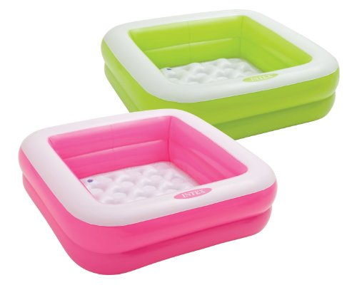 Intex Babypool Play Box Pool, Farblich Sortiert, 86 x 86 x 25 cm, Sortierte...