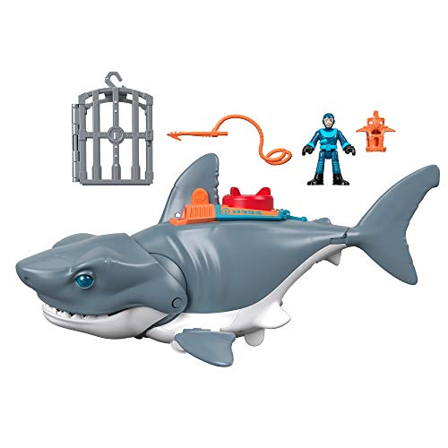 Fisher-Price GKG77 - Imaginext Hungriger Hai