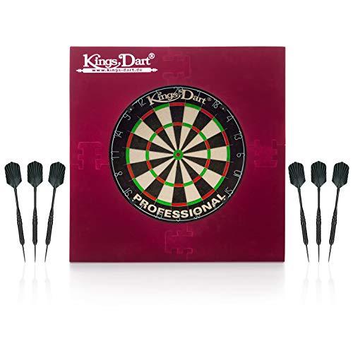 Kings Dart Dart-Set Professional   Profi Dartset Komplettset: Profi-Dartscheibe,...