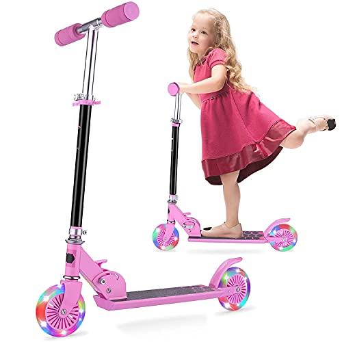 Kinder Roller - Scooter Kinder FONTE KS1 Faltbar umweltfreundliche...