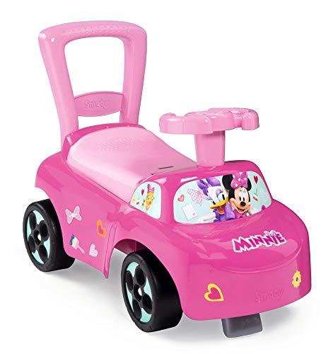Smoby 720522 Mein erstes Auto Rutscherfahrzeug Minnie, Kinderfahrzeug mit...