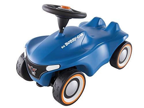 BIG-Bobby-Car Neo Blau - Rutschfahrzeug für drinnen und draußen,...