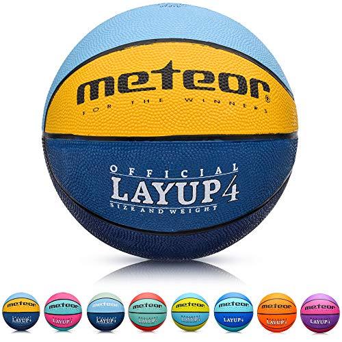 meteor® Kinder Basketball Layup Größe #4 Jugend Basketball ideal auf die...