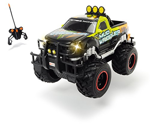Dickie Toys RC Ford F150 Mud Wrestler, ferngesteuertes Auto für drinnen und...