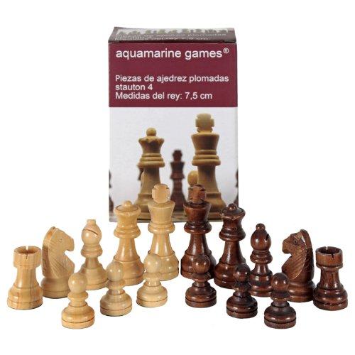 Aquamarine Games - Stauton 4 Schachfiguren (Compudid CP002)
