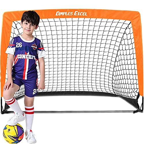 DIMPLES EXCEL Fussballtor Pop Up Fussballtor für Kinder Garten Fussball Tor...