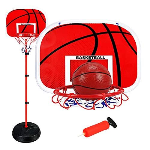 EUNEWR Basketballkörbe Kinder Einstellbare Basketballständer 1.65m...