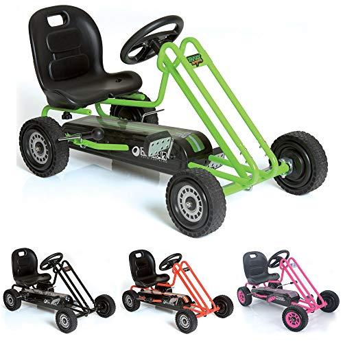 Hauck T90105 Lightning Go-Kart - Kinderfahrzeug, Reifen mit Gummiprofil,...