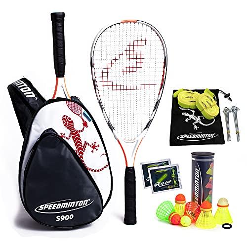 Speedminton® S900 Set – Original Speed Badminton/Crossminton Profi Set mit...