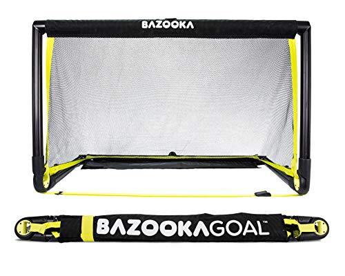 BazookaGoal Original-Fußballtor, Outdoor / Indoor-Set mit massivem Rahmen –...