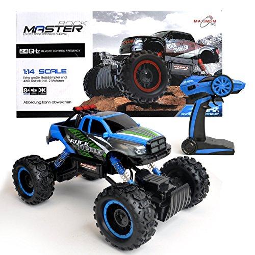 Maximum RC Ferngesteuertes Auto für Kinder - 4WD Monstertruck - XL RC Auto für...
