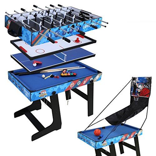 hlc 5 in 1 multifunknierte Tischspiel Tischfußball/Tischtennis/Air...