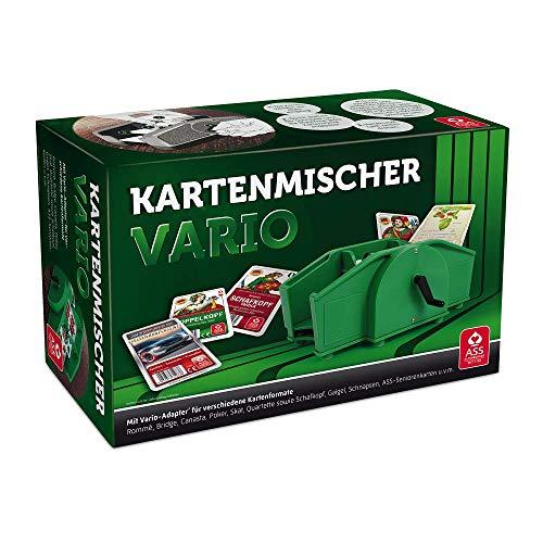 ASS Altenburger 22574033 - Kartenmischer Vario mit Handkurbel, für...