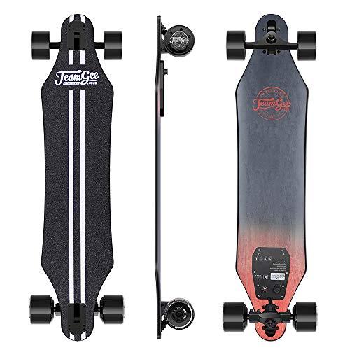 Teamgee H5 - Elektro Longboard Skateboard mit Fernbedienung, Ultra Dünn,...