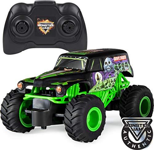 Monster Jam 6044955 Grave Digger RC Truck, Maßstab 1:24, ferngesteuert