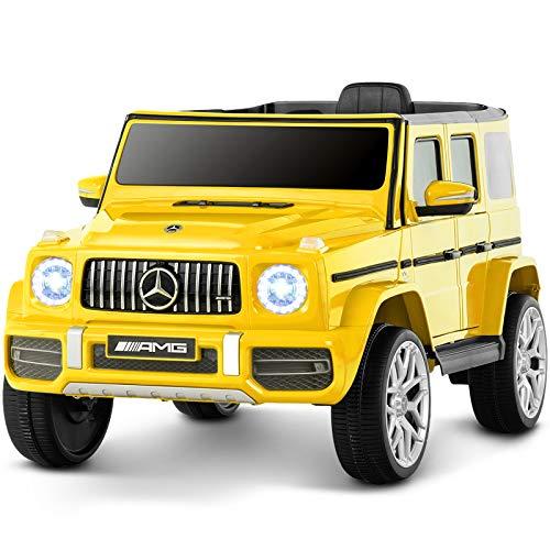 Uenjoy 12V Kinder Elektroautos Motorisierte Fahrzeuge für Mädchen, Jungen, mit...