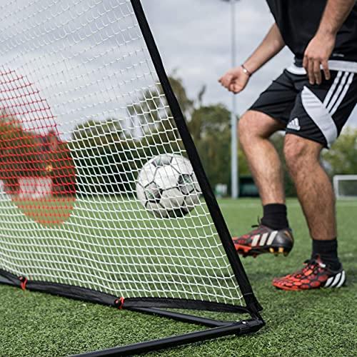 QUICKPLAY Spot Ziel Fußball Rebounder 1,5 x 1M - Jetzt mit kostenloser eCOACH...