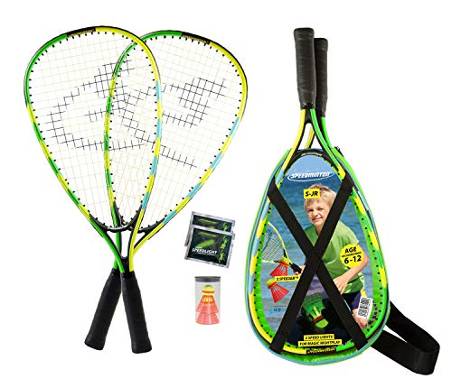 Speedminton® Junior Set – Original Speed Badminton/Crossminton Kinder Set...