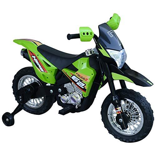 HOMCOM Elektro-Motorrad Kindermotorrad Elektrofahrzeug 3 bis 6 Jahre 3–6 km/h...