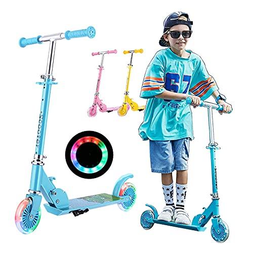 Kinder Scooter Klappbar, Soldow Kickscooter Kinder Roller Tretroller Cityroller...