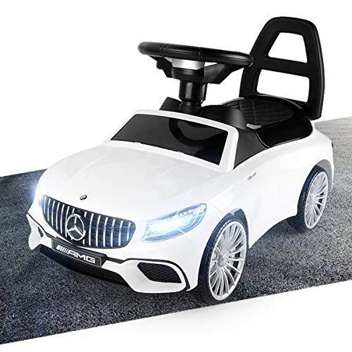 Mercedes-Benz S AMG 65 Rutschauto LED Rutscher Kinderfahrzeug Kinderauto Lizenz...