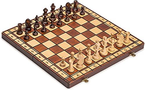 Schach Schachspiel Jowisz 42 x 42 cm Holz