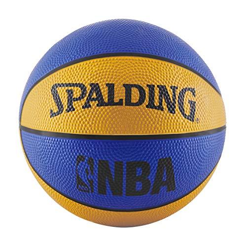 Spalding NBA Mini Rubber Outdoor Basketball, Unisex, Jugendliche, NBA Mini...