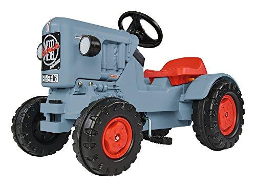 BIG - Traktor Eicher Diesel ED 16 - Trettraktor mit 3-Stufen Sitzverstellung,...