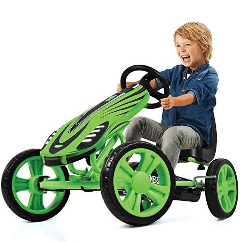 Hauck Toys For Kids GoKart Speedster - Pedal Go-Cart mit Handbremse und...