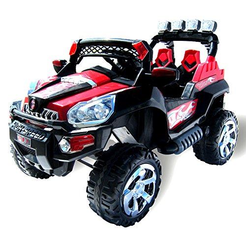 Actionbikes Motors Elektro Kinderauto Jeep 801 mit 2 x 25 Watt Motor Elektro...