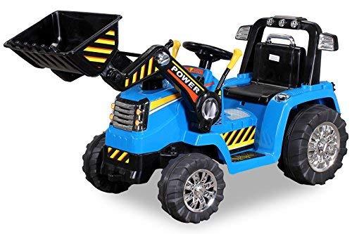 Kinder Elektrobagger mit 2 x 25 Watt Motoren Elektro Bagger Kinderauto...