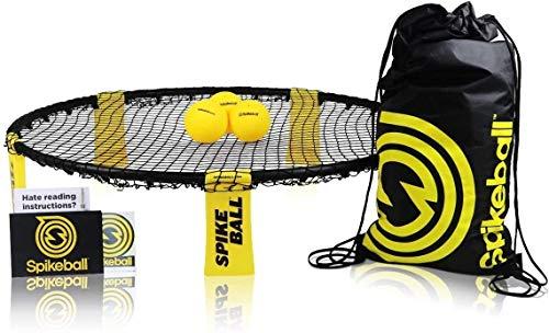 Spikeball-Set mit 3 Bällen - Zum Spielen im Freien, im Haus, im Garten, am...