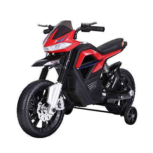 HOMCOM Kindermotorrad Kinder-Elektromotorrad Elektro-Motorrad für Kinder 3-6...