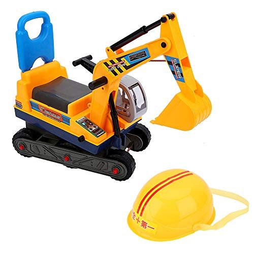 Ejoyous Spielzeug-Bagger, Bagger Kinder 2 Jahre Draufsitzen Sitzbagger...