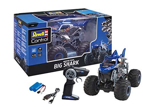 Revell Control 24558 RC Monster Truck Big Shark, Hai Design, 2.4 GHz, für...