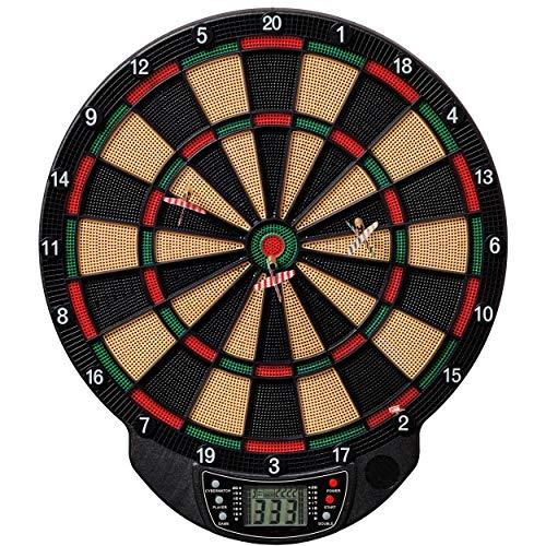 Best Sporting elektronische Dartscheibe Bristol Dartboard mit 6 Dartpfeilen und...
